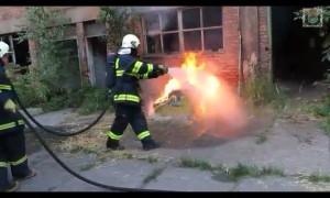 požár popelnice